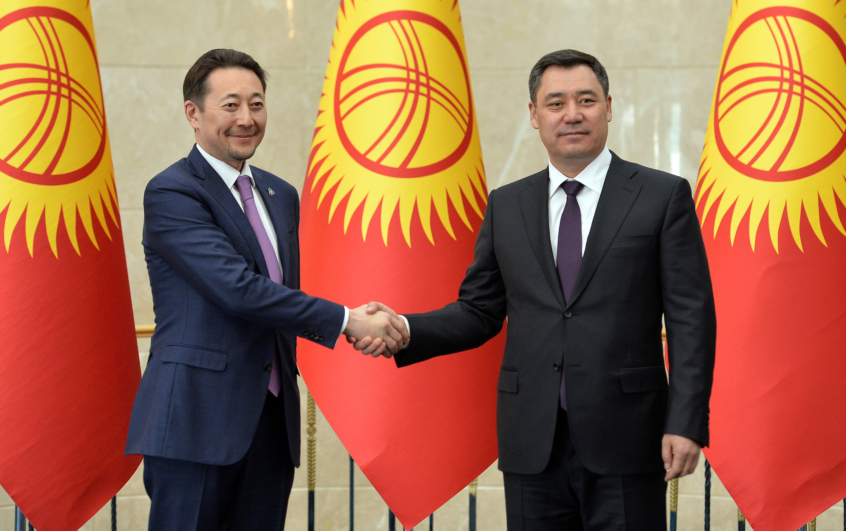 Kyrgyzstan is committed to the goals and objectives of the CICA in line with the principles of its multi-vector and pragmatic foreign policy                          H.E. President of Kyrgyz Republic Mr. Sadyr Zhaparov stated during the meeting with representatives of international organizations in Bishkek.