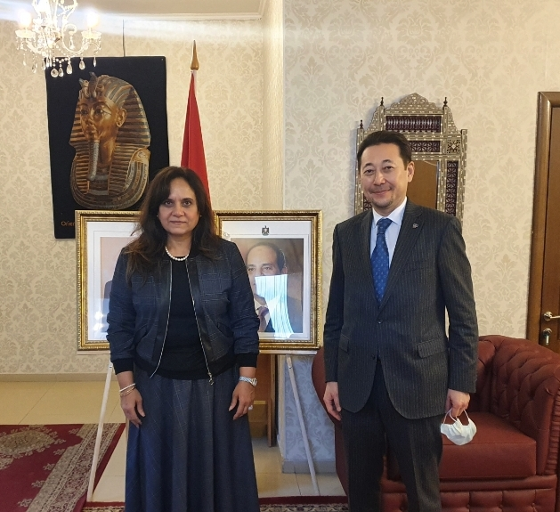 The Ambassador of Egypt affirmed her commitments to the promotion of CICA and expressed readiness to facilitate the development of the Forum.
