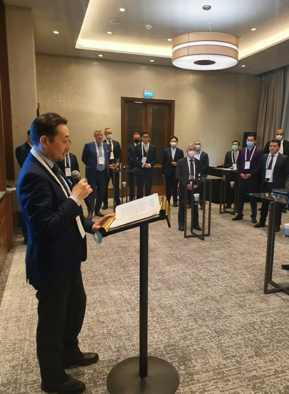 Cooperation of the CICA countries in the economic dimension was discussed at a joint meeting of the CICA Secretariat and the Diplomatic Business Club in Nur-Sultan on February 5, 2021.