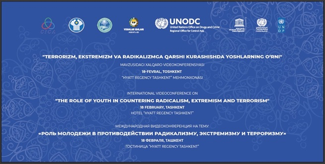"""CALL FOR APPLICATIONS FOR AN INTERNATIONAL VIDEO-CONFERENCE ON """"THE ROLE OF YOUTH IN COUNTERING AGAINST RADICALISM, EXTREMISM AND TERRORISM"""""""