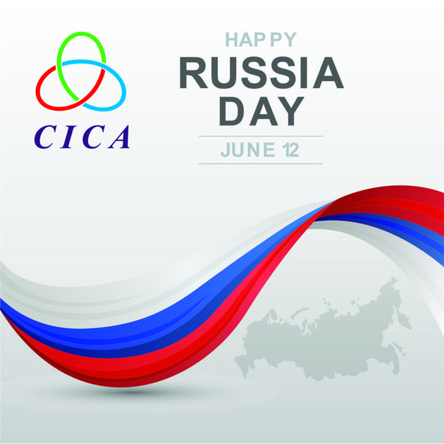 The #CICA Secretariat has a pleasure to convey its heartfelt congratulations and sincere wishes ofhappiness,peace and prosperity to #RussianFederation on the occasion of Russia Day!