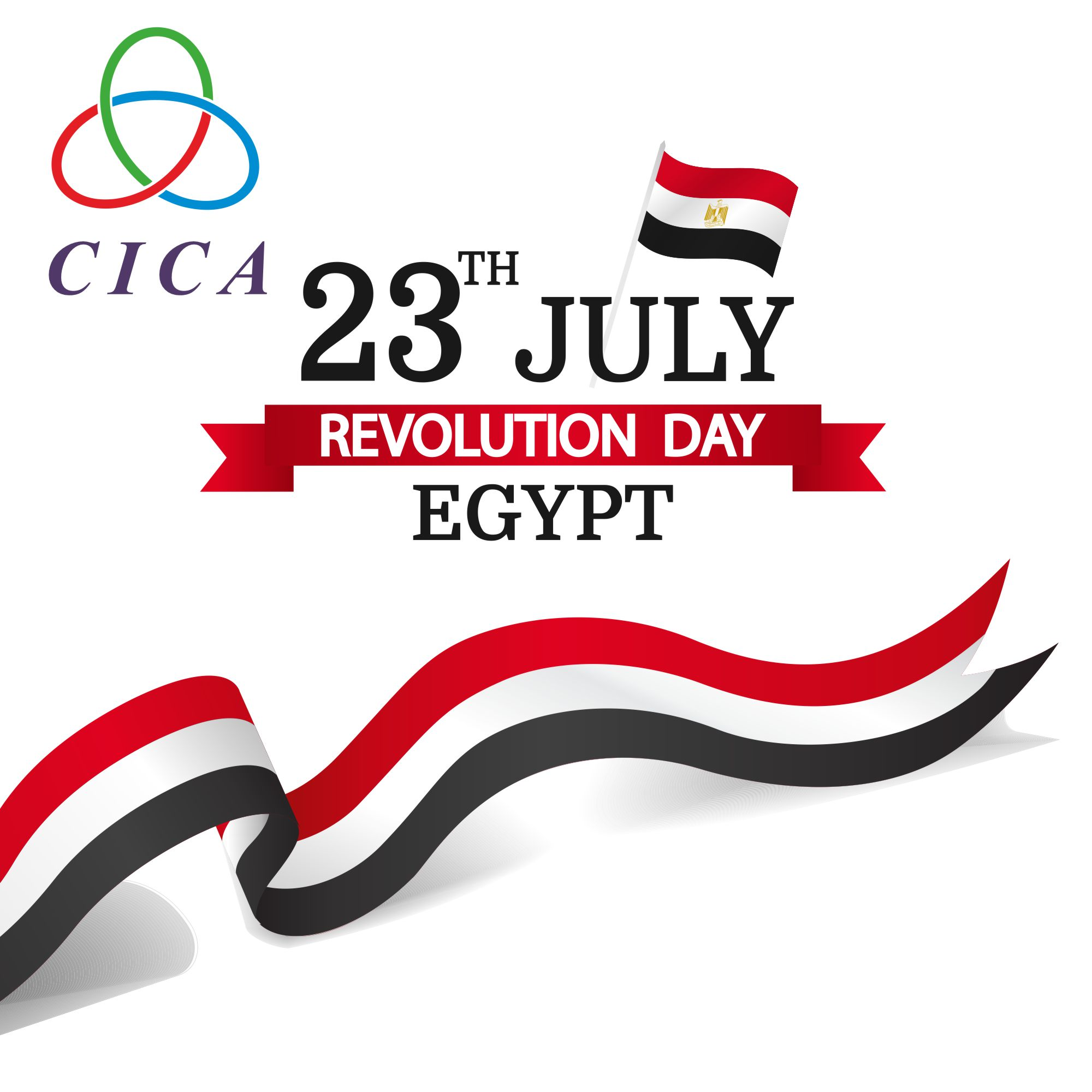 CICA Secretariat extends sincere congratulations to Egypt on the occasion of the RevolutionDay!